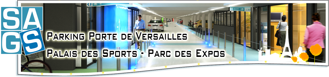 Parking palais des sports paris palais des expositions for Parking r porte de versailles